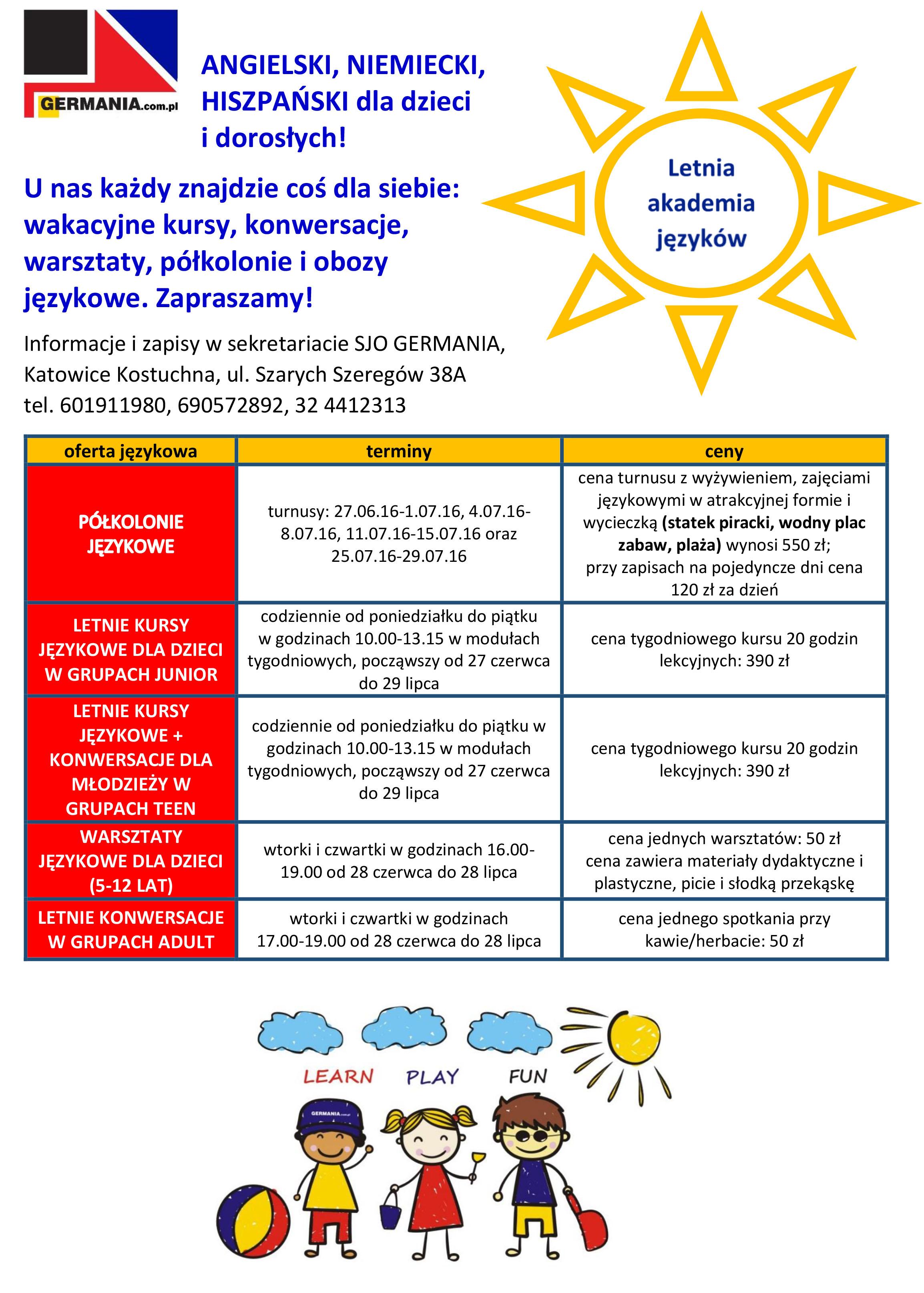 GERMANIA-LetniaAkademiaJęzyków